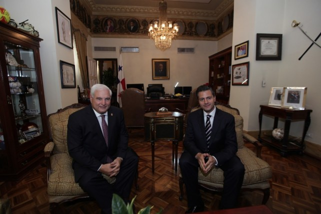 Visita oficial del Presidente de los Estados Unidos Mexicanos, lic. Enrique Peña Nieto a la República de Panamá