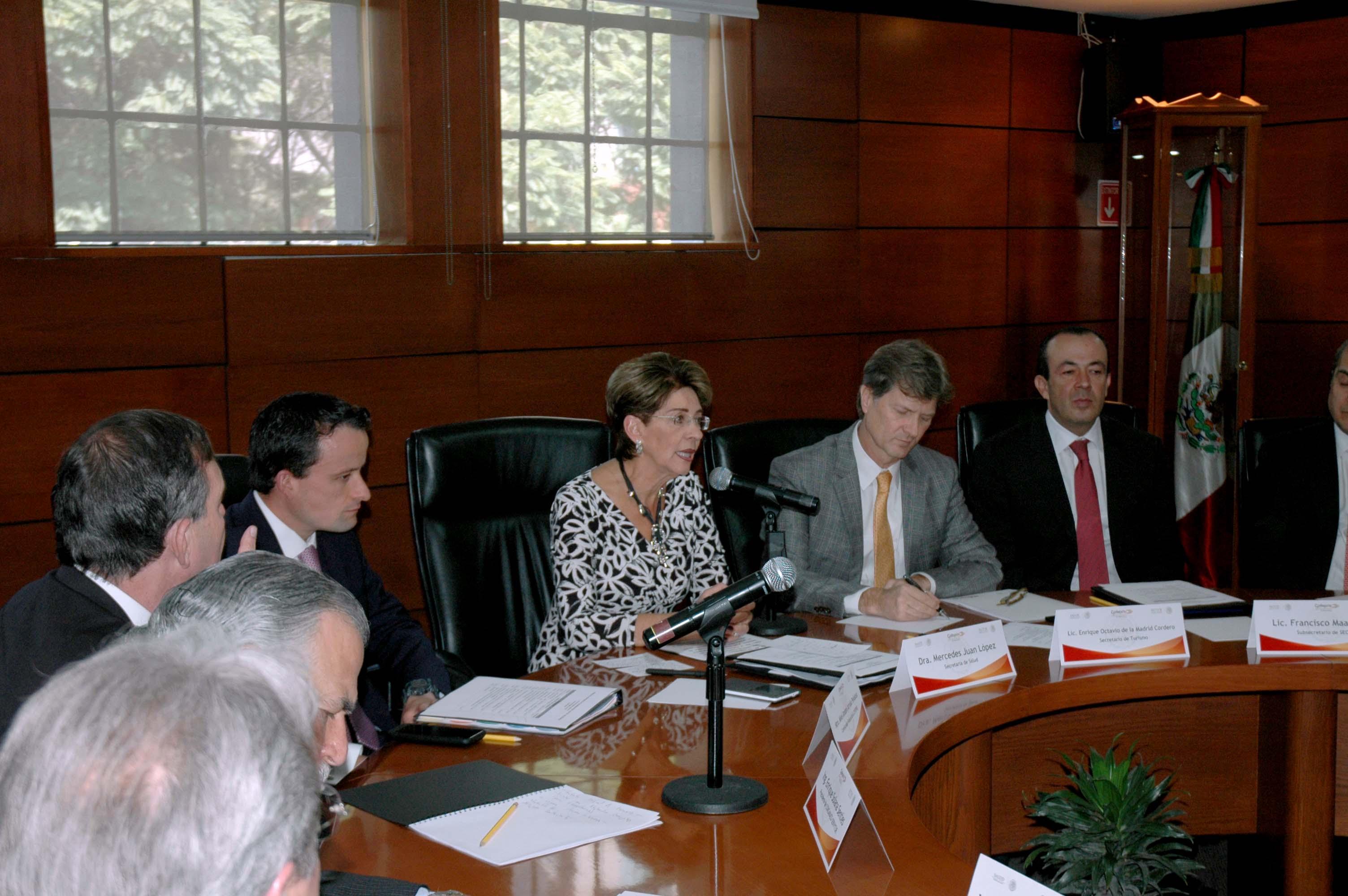 Con ello, se acelerará la entrega del Distintivo H por parte de Secretaría de Turismo con aval de COFEPRIS.