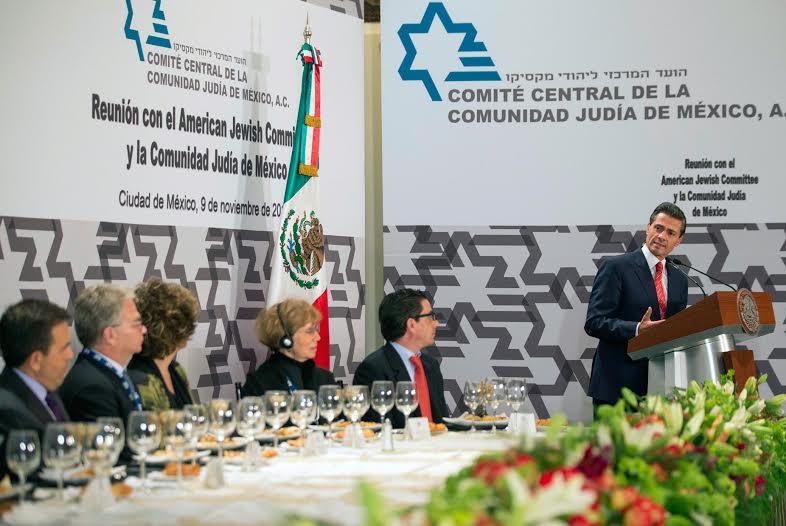 """México es un país que """"está en un proceso de cambio, de transformación, que de forma perseverante se mantiene muy fiel a los objetivos que nos hemos trazado para arribar a mejores condiciones""""."""