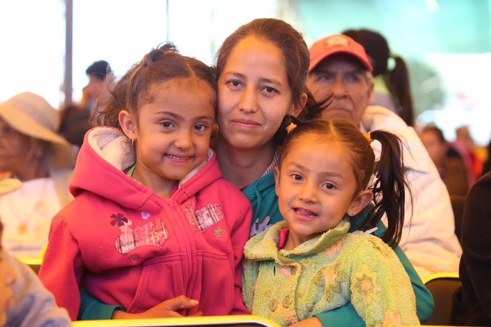 Evento de la Cruzada Nacional Contra el Hambre, en el municipio de Pinos, Zacatecas