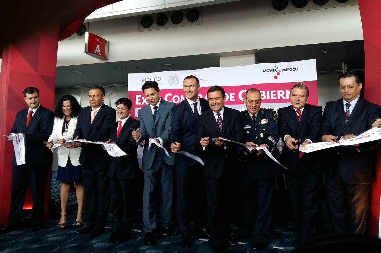 Inauguración de la Expo Compras de Gobierno.