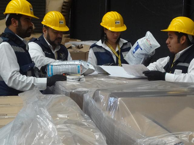 En julio pasado se llevó a cabo con éxito la primera inspección y certificación de esta prueba piloto para la Aduana Interior de México.