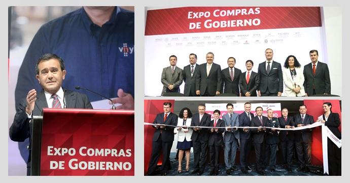 Inaugura el Secretario de Economía Expo Compras de Gobierno 2015