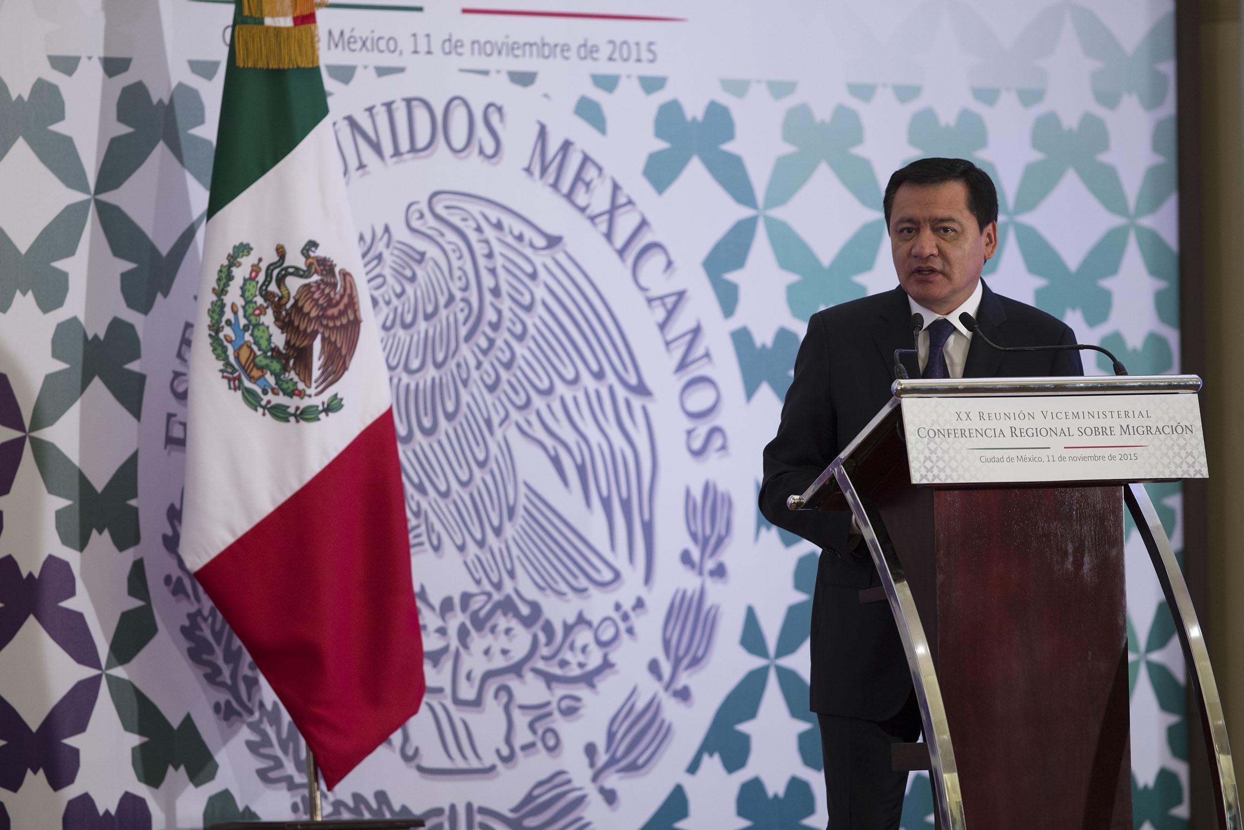 El Secretario de Gobernación inauguró la Vigésima Reunión Viceministerial de la Conferencia Regional sobre Migración