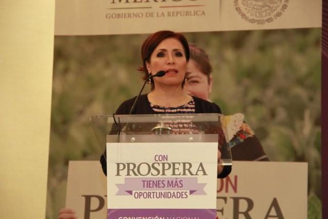 Clausura de la Convención Nacional de Prospera