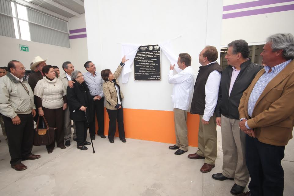 Inauguró la titular de la Sedesol el Banco de Alimentos de San Luis Potosí