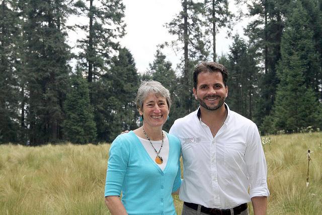 Visita de Sally Jewell de Estados Unidos a santuario de la Monarca en México.