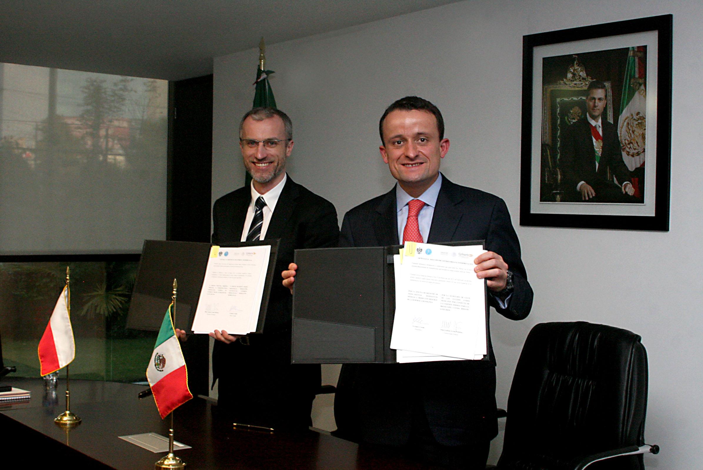 México y Polonia, comprometidos con las mejores prácticas regulatorias internacionales
