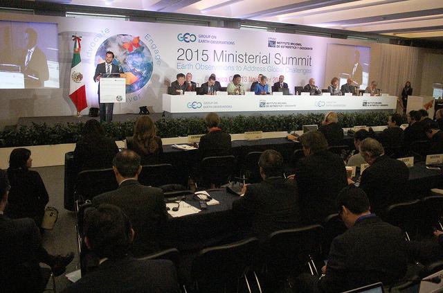 Inauguración de la Cumbre Ministerial del Grupo de Observaciones de la Tierra.