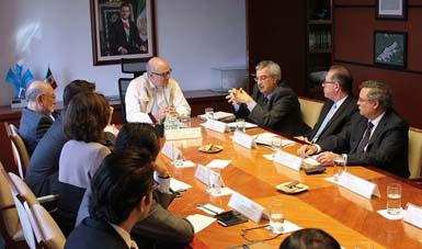 El objetivo de la reunión con el ejecutivo del CDB es definir los temas prioritarios en la COP13