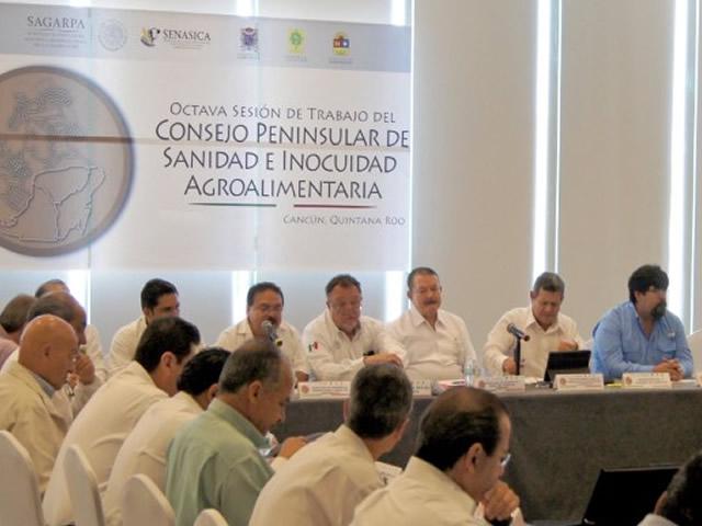 Fortalecen coordinación para proteger la sanidad en la Península de Yucatán.