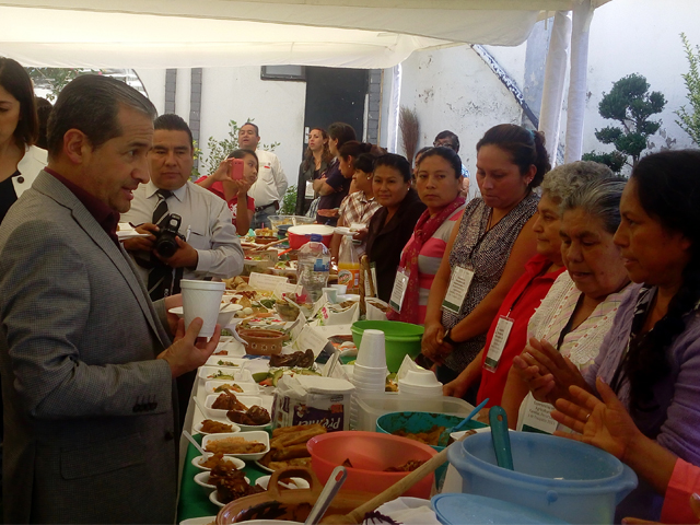 Se realizó en Puebla Encuentro Nacional de Intercambio de Experiencias en Agricultura Familiar, Periurbana y de Traspatio.