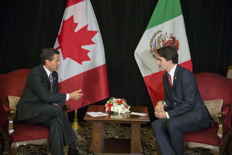 La reunión se llevó a cabo en el marco de las actividades del Primer Mandatario mexicano en la Cumbre de Líderes del G20.
