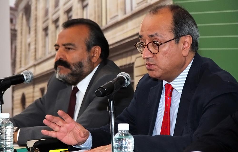 Conferencia de prensa del subsecretario de Planeación y Evaluación de Políticas Educativas