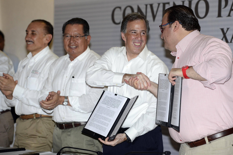 Convenio SEDESOL y gobierno de Veracruz
