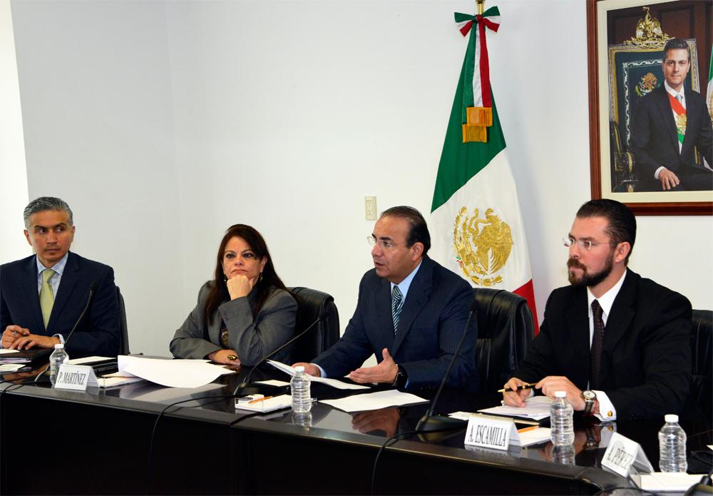 El Titular de la Secretaría del Trabajo y Previsión Social (STPS) indicó que estas acciones para Democratizar la Productividad responden a la Estrategia General del Plan Nacional de Desarrollo 2013-2018 del Presidente Enrique Peña Nieto.