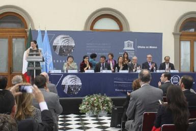 Conmemoración de 70 años de la UNESCO.