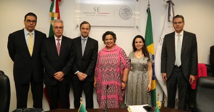 Concluye Primera Ronda de Negociaciones para la Ampliación y Profundización del Acuerdo de Complementación Económica Número 53 entre México y Brasil