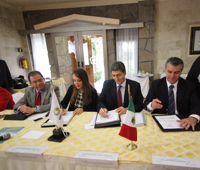 Firmó el Subsecretario de Desarrollo Social y Humano, Ernesto Nemer, un acuerdo de colaboración con los agremiados del Consejo de Cámaras y Asociaciones Empresariales del Estado de México (CONCAEM).