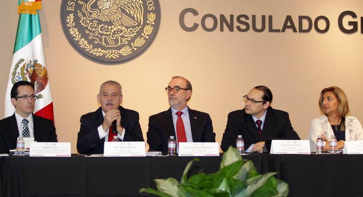 Se realizó en Los Ángeles Reunión Regional América de la Red Global MX