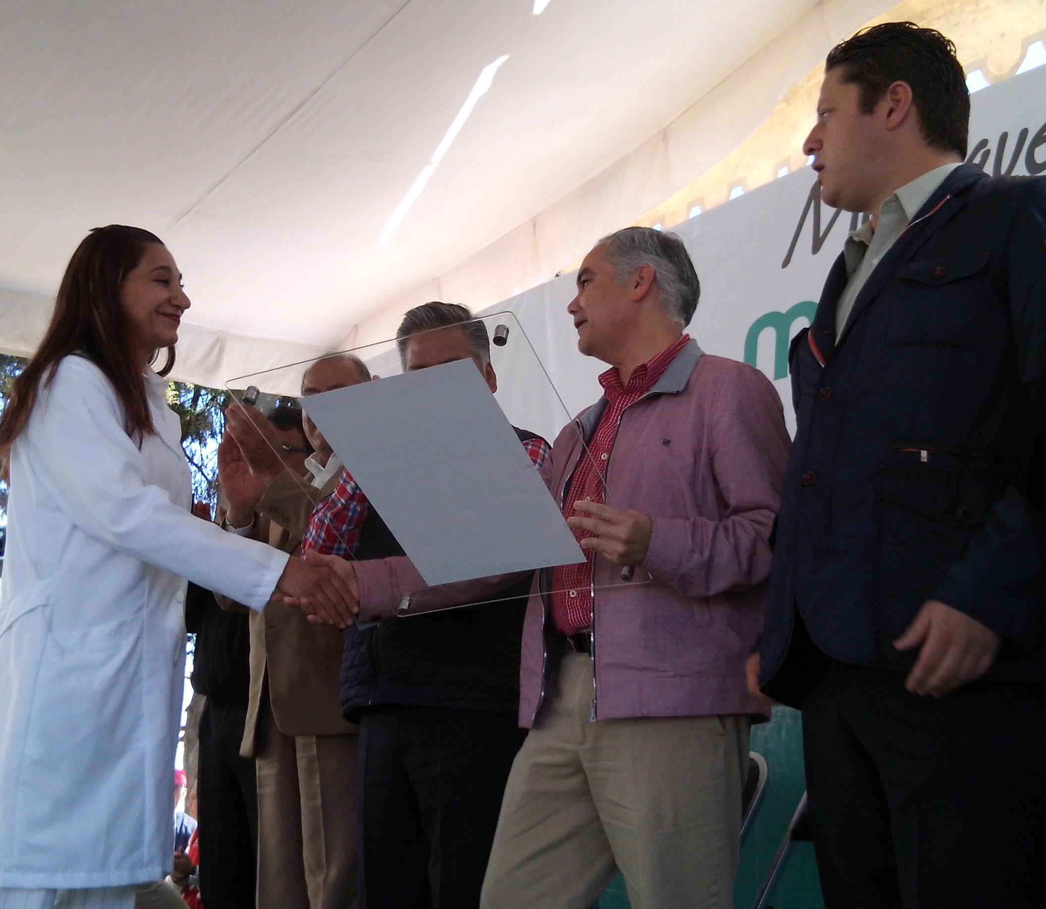 Certificados a unidades médicas que proporcionan servicios de salud