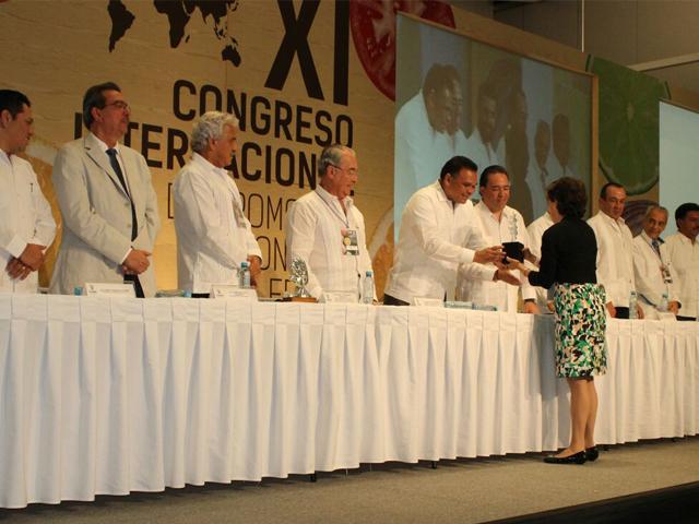 En representación del titular de la SAGARPA, José Calzada Rovirosa, el director en Jefe de ASERCA, Alejandro Vázquez Salido, inauguró el evento.
