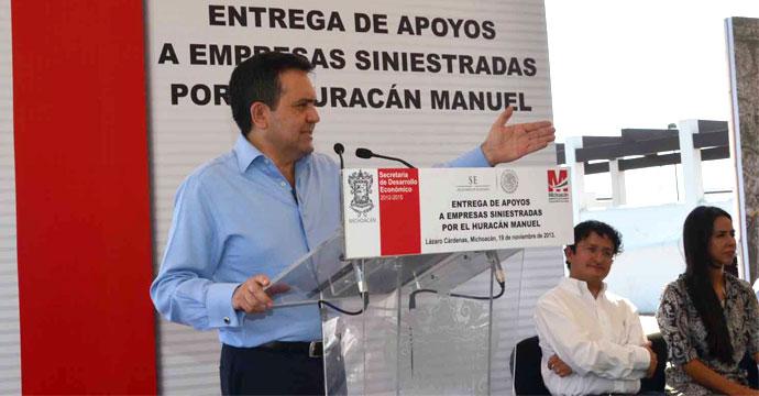 Realiza Gira de Trabajo el Secretario Ildefonso Guajardo Villarreal a Lázaro Cárdenas y Morelia