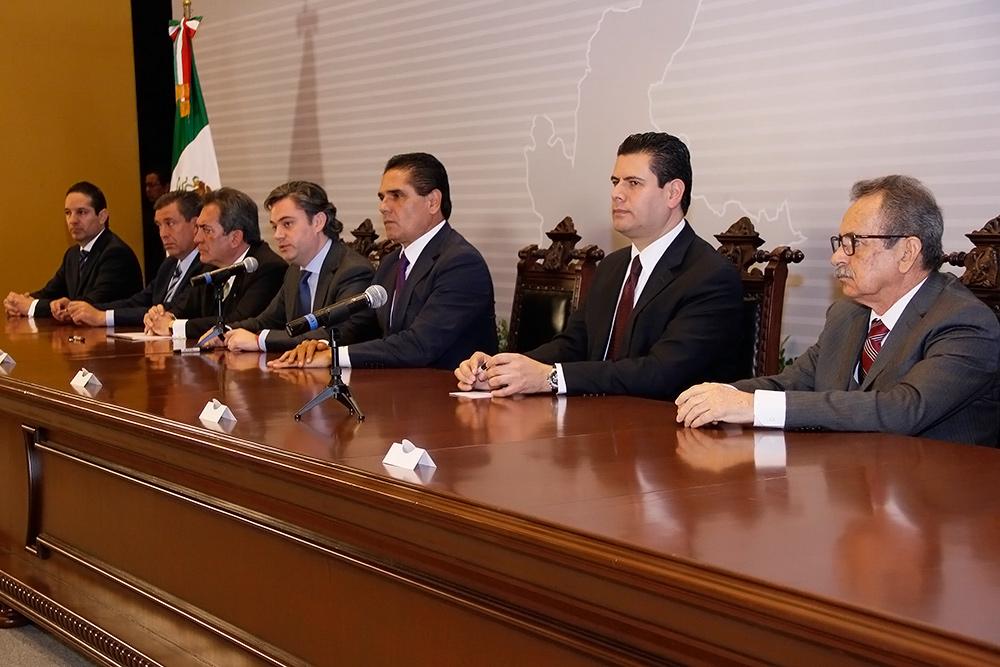 Conferencia de prensa al término de la instalación del Mecanismo de Coordinación Regional SEP Zona Occidente