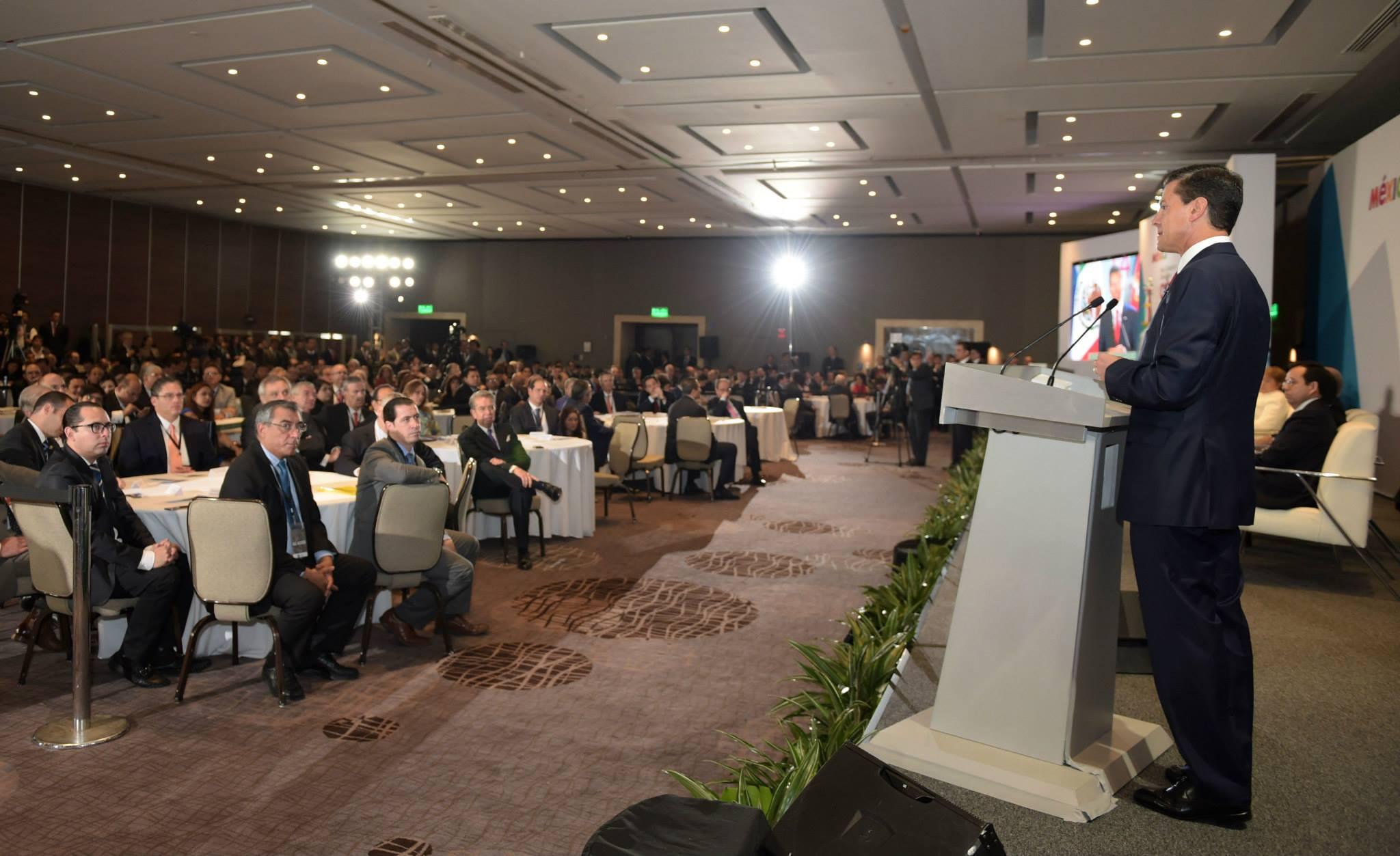 Palabras del Presidente de los Estados Unidos Mexicanos, licenciado Enrique Peña Nieto, durante el Foro Comercio e Inversiones Chile-México