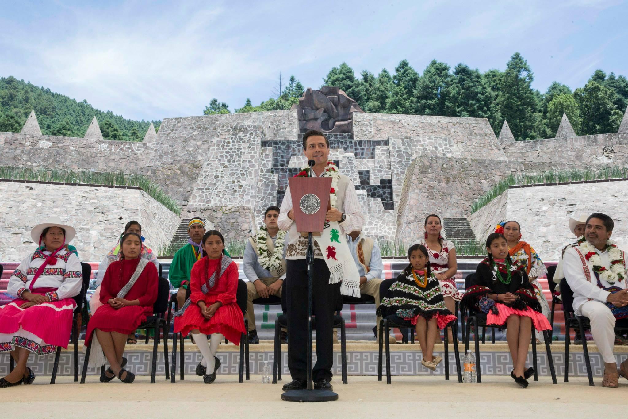 Palabras del Presidente Enrique Peña Nieto, durante la Conmemoración del Día Internacional de los Pueblos Indígenas