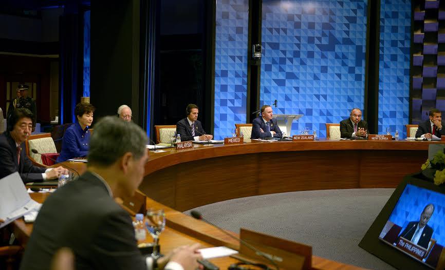 El mandatario mexicano participó en el Primer Retiro de la 23ª Reunión de Líderes del Foro de Cooperación Económica Asia-Pacífico (APEC).
