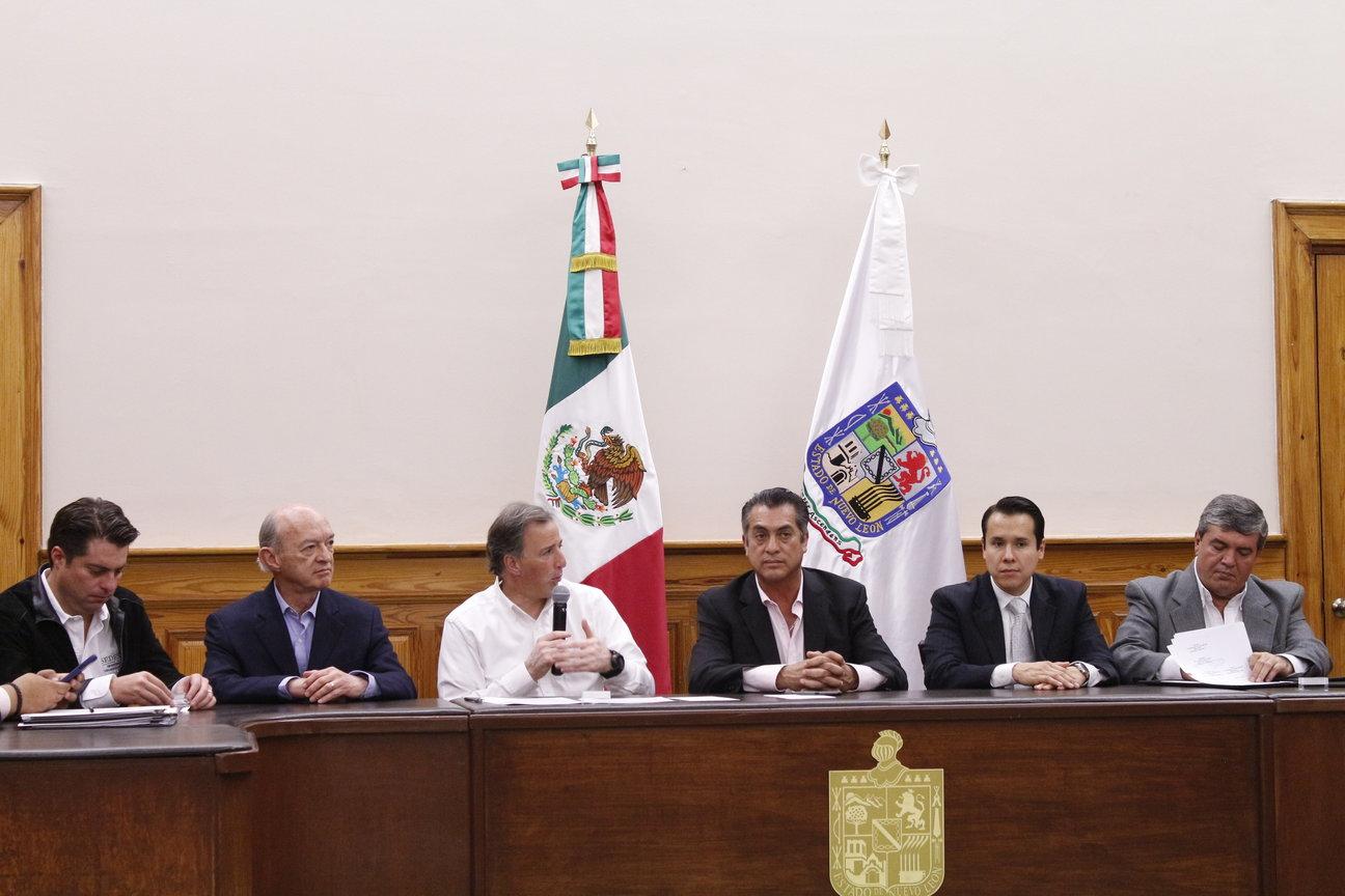 Mensaje del secretario José Antonio Meade en el marco de la firma del Acuerdo Integral para el Desarrollo Social Incluyente