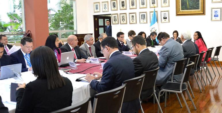 Reunión de trabajo México-Guatemala