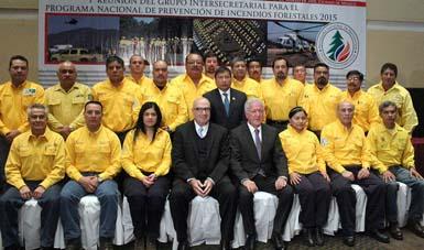 El Secretario Guerra Abud, encabezó la 1ª Reunión del Grupo Intersecretarial para el Programa Nacional de Prevención de Incendios Forestales.