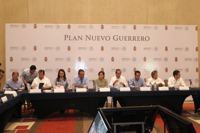 Los temas tratados durante la tercera reunión efectuada el día de hoy, fueron turismo, jornadas médicas y acciones de reconstrucción del Fondo de Desastres Naturales (Fonden)