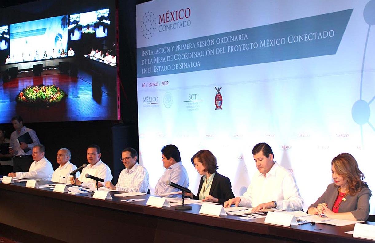 Sinaloa, décimo estado en sumarse al Programa México Conectado