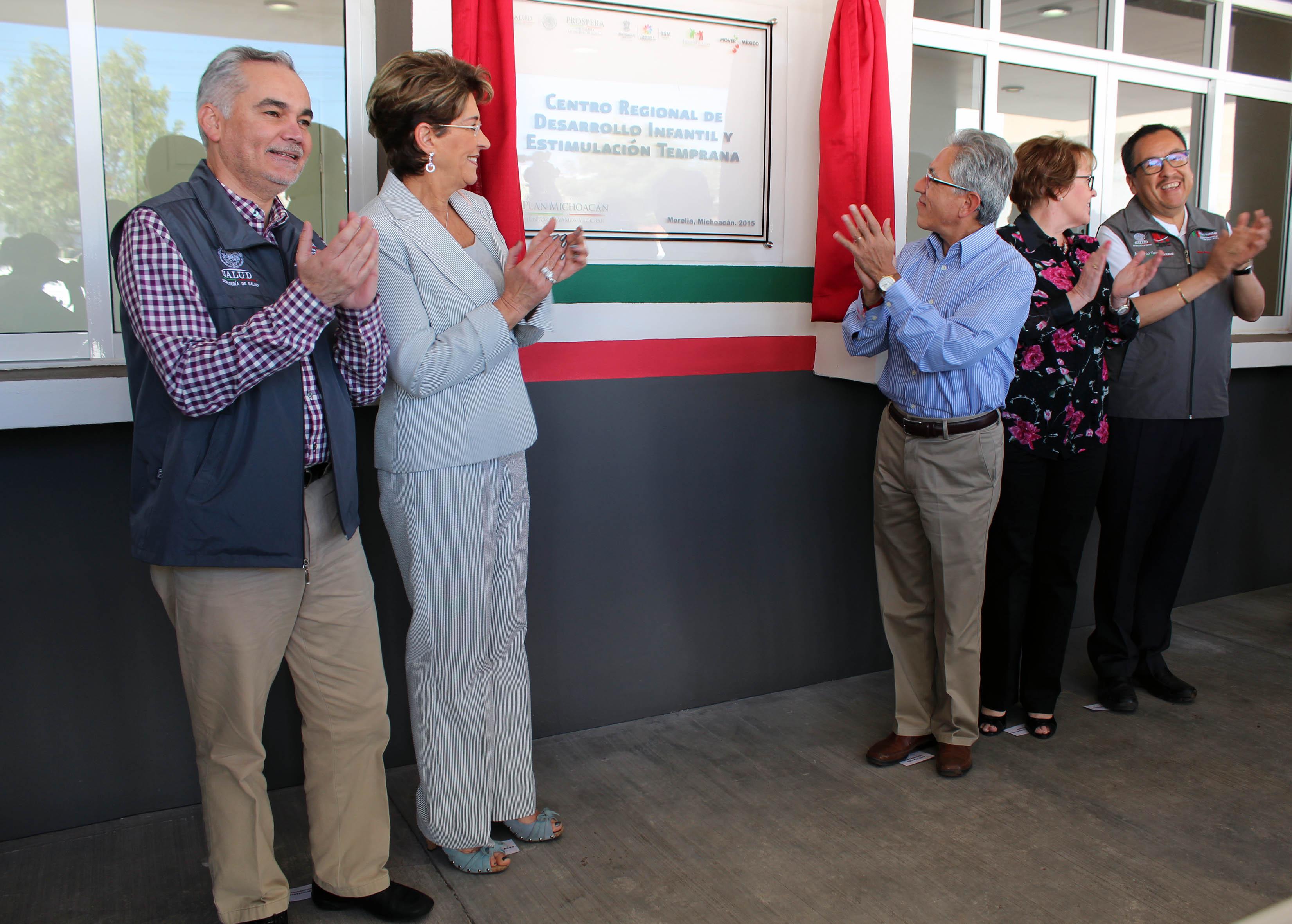 La Secretaria de Salud, Mercedes Juan, inauguró el Centro Regional de Desarrollo Infantil