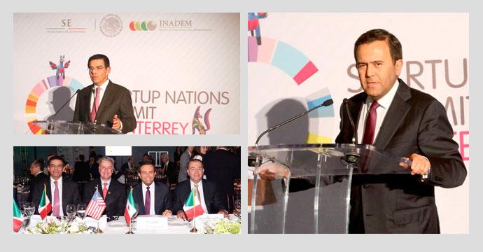Asistió Ildefonso Guajardo al Startup Nations Summit 2015