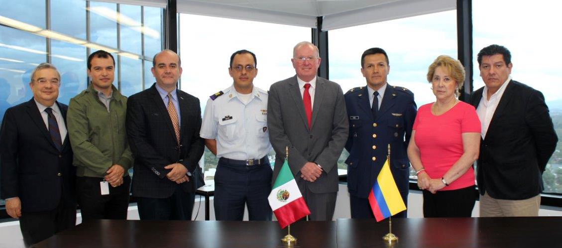 México intercambia experiencias con Colombia para conformar su propia agencia espacial
