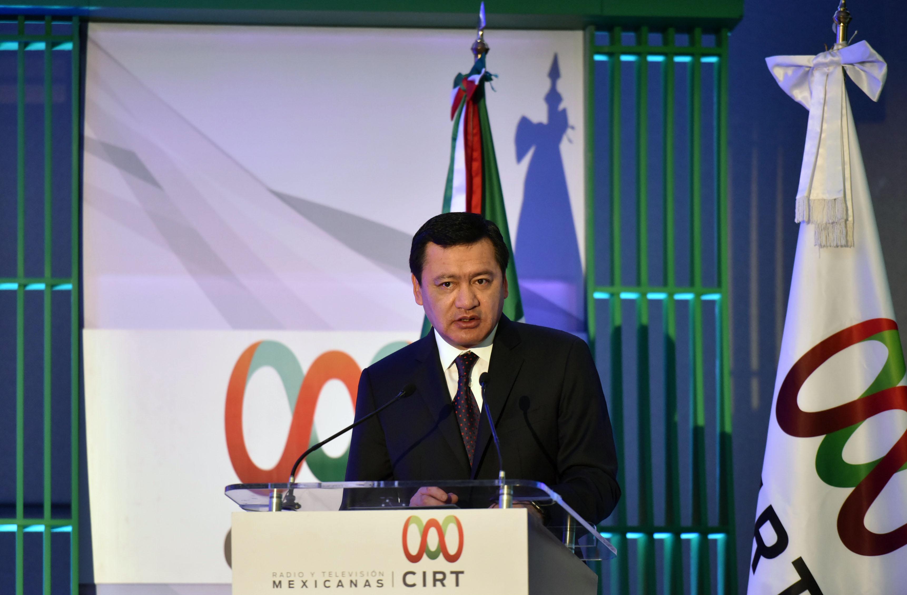 El Secretario de Gobernación inauguró la 57 Semana Nacional de Radio y Televisión de la CIRT