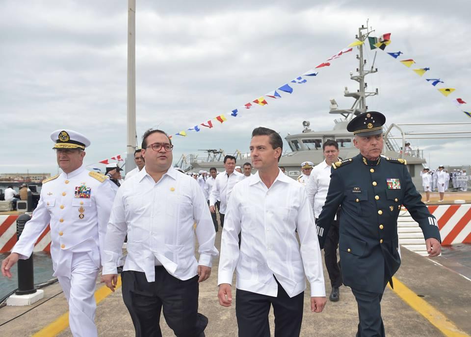 La Armada de México rompió paradigmas, se modernizó y hoy cuenta con mejores y mayores capacidades: Almirante Vidal Francisco Soberón Sanz.