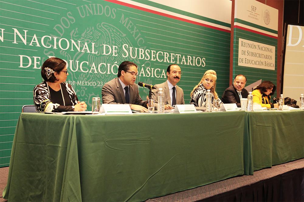 Construyen subsecretarios de Educación Básica del país agenda de acciones estratégicas para instrumentar Reforma Educativa