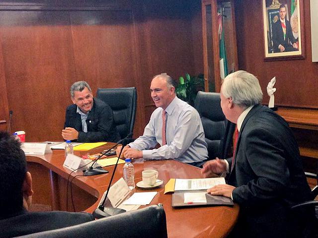 El secretario José Calzada Rovirosa se reunió  con la Confederación Mexicana de Cooperativas Pesqueras y Acuícolas (CONMECOOP).