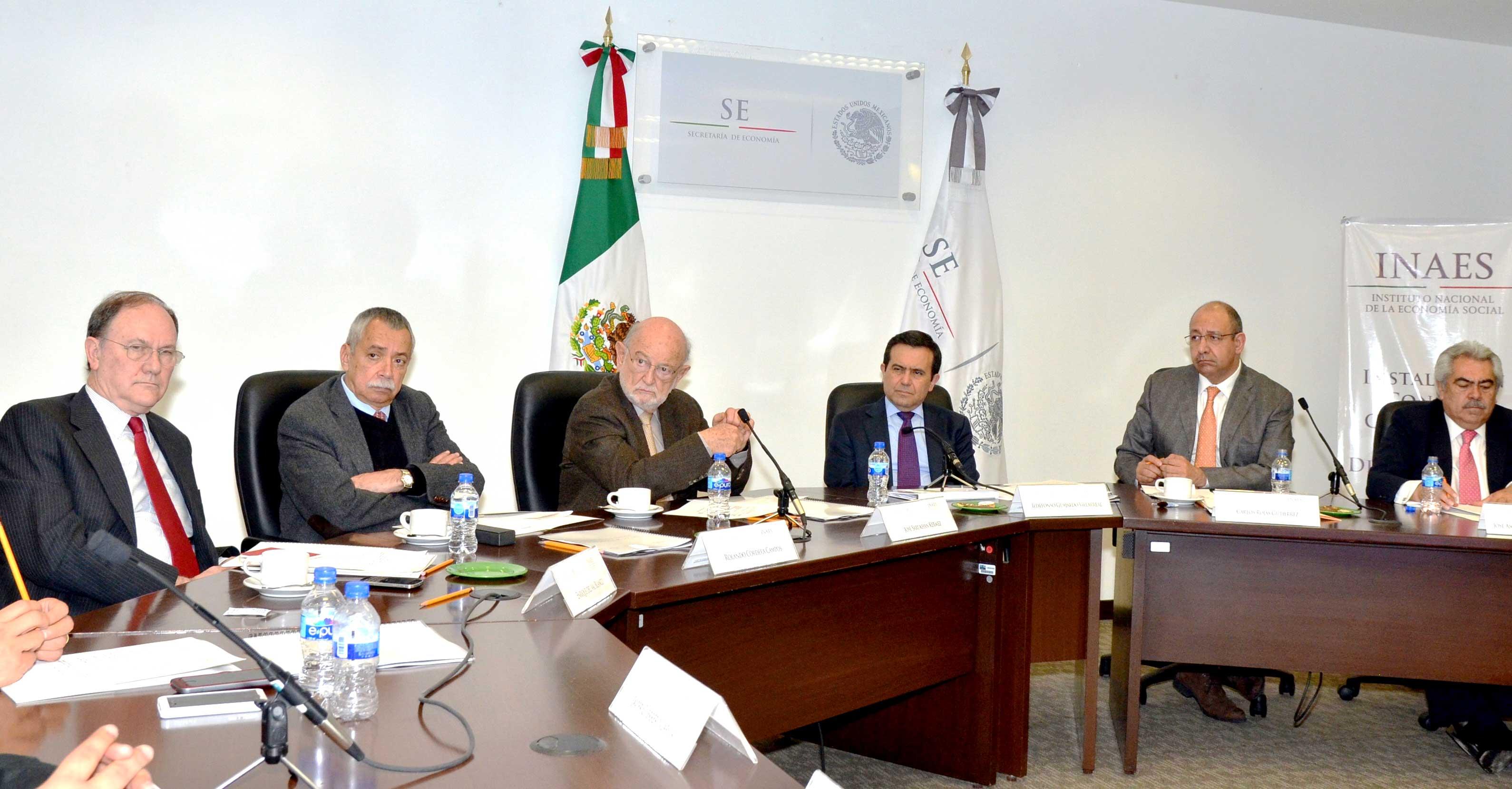 Instalan Consejo Consultivo del INAES