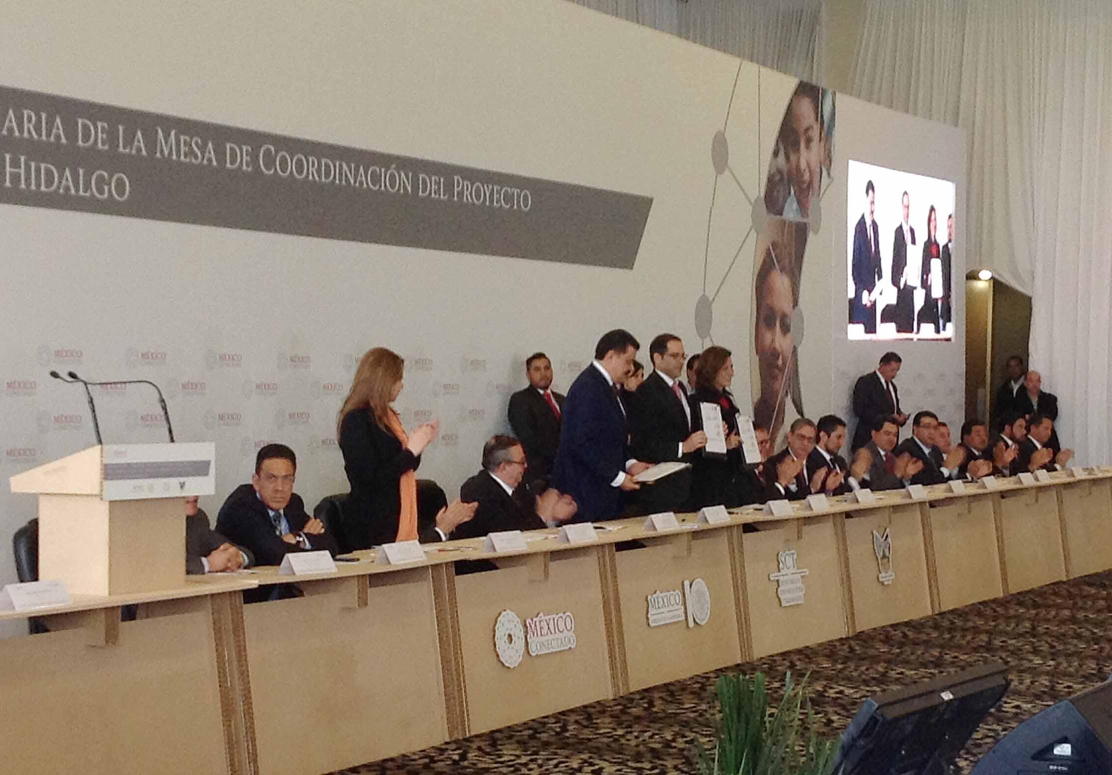 Internet de banda ancha para sitios públicos de Hidalgo con México Conectado