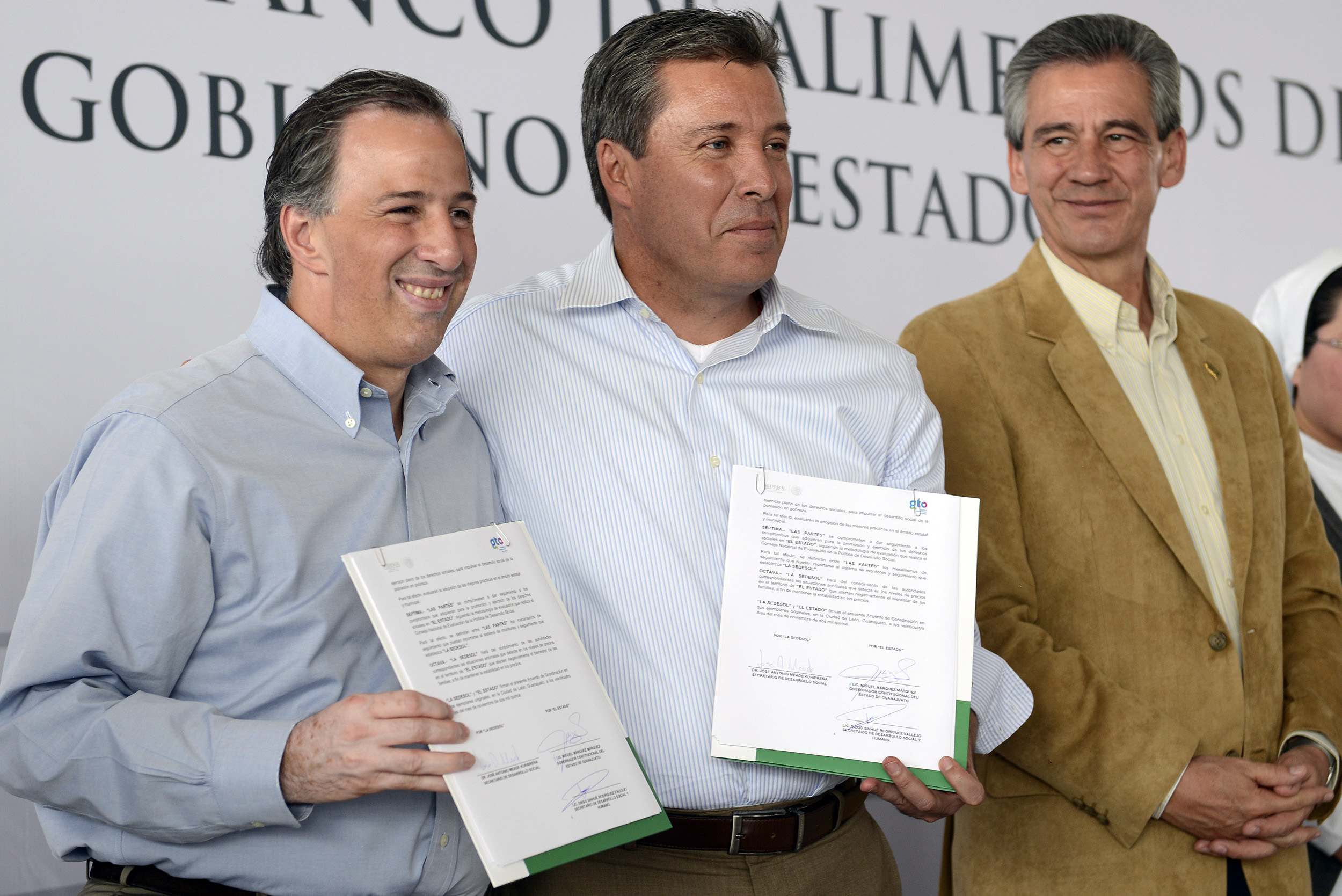 Acuerdo Sedesol  - Gobierno de Guanajuato