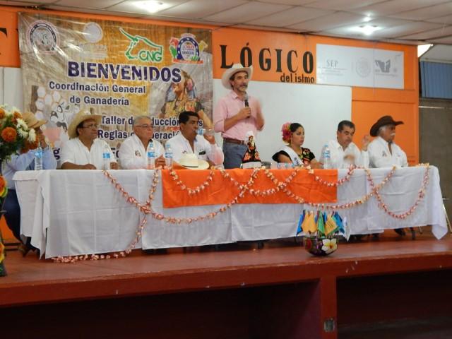 Organización y capacitación, claves para mejorar la producción pecuaria del país: Gurría Treviño.