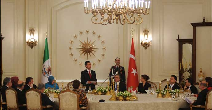 Asiste el Secretario Guajardo a la Visita de Estado a Turquía