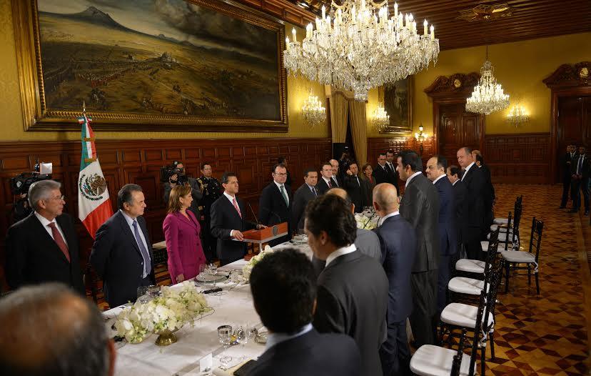 President Enrique Peña Nieto accepted Sheikh Tamim bin Hamad Al Thani's invitation to visit Qatar.