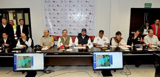 Respaldo total del gobierno de EPN al pueblo de Veracruz ante la emergencia, destaca titular de la SAGARPA